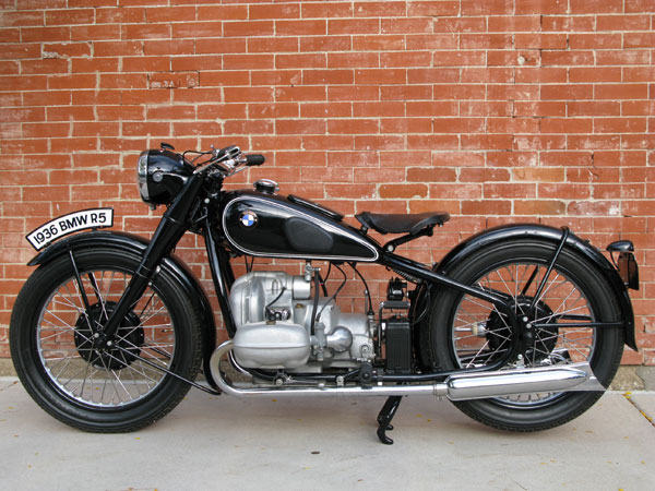 Earlesfork Com 1936 Bmw R5 Motorcycle